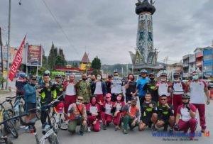 Gowes, Cara TNI-Polri di Karo Jaga Sinergitas dan Soliditas