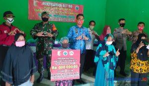 Kampung Kecubung Raya Salurkan BLT-DD untuk 18 KPM