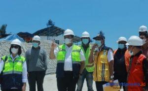 Tinjau Pembangunan IPL TPAS Bintang, Bupati Eddy-BPPW Jamin Bebas Polusi