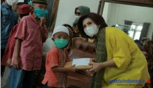 Berkah Ramadhan, Ketua TP PKK Dairi Santuni Anak Yatim dan Kaum Dhuafa