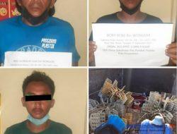 Pelaku Curat, 3 Warga Bandarlampung Ditangkap Polisi