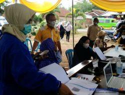 Yellow Klinik Golkar Pesawaran Bersama Dinkes Gelar Vaksinasi Dosis ke-2