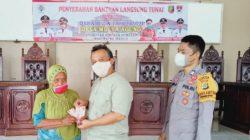 38 Keluarga di Mulya Agung Dapat Rp300 Ribu tiap Bulan