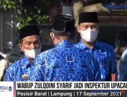 VIDEO: Wabup Zulqoini jadi Inspektur Upacara Bulanan di Labuhanjukung