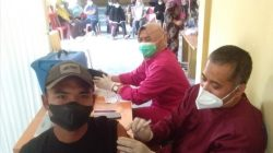 Pekon Puralaksana Gelar Vaksinasi, Camat Bambang: Ini Efektif