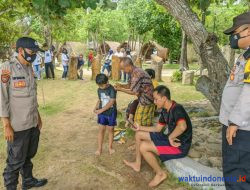 Tak Patuh Prokes, 95 Pengunjung Pantai Mutun Terjaring Ops Yustisi
