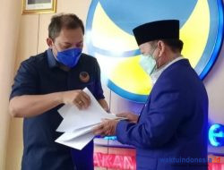 Herman HN Resmi Tukangi NasDem Lampung, Ini Kata Tobas
