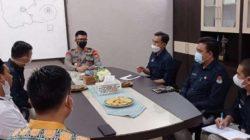 Ketua KPU Lambar Sambangi Polres dan Kejari