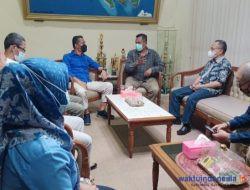 Sekretaris PWI Lampung Disambut Hangat Saat Berkunjung ke RRI
