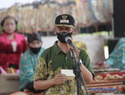 Warga Gadingrejo Jalani Ritual Mapak Tuyo, Bupati Sujadi Ingatkan Ini